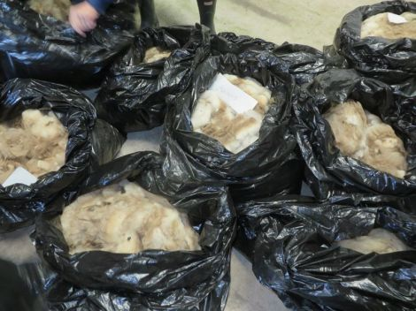 bags of fleeces