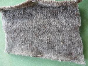 alpines steinschaf boiled wool