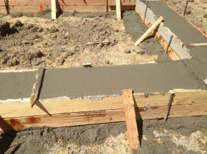 cement in